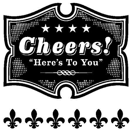 Inkadinkado Clear Stamps - Cheers