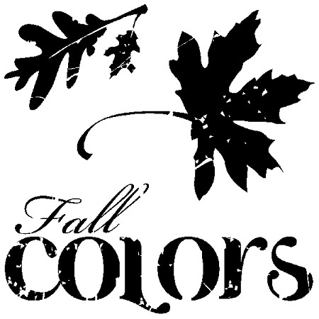 Inkadinkado Clear Stamps - Fall Colors