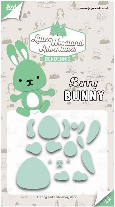 Joy Crafts - Cutting Die - Little Woodland Adventures Benny Bunny