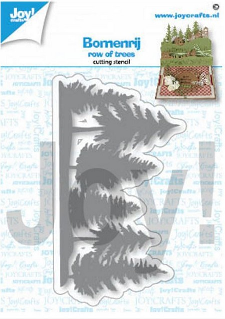 Joy Crafts - Cutting Die - Row of Trees