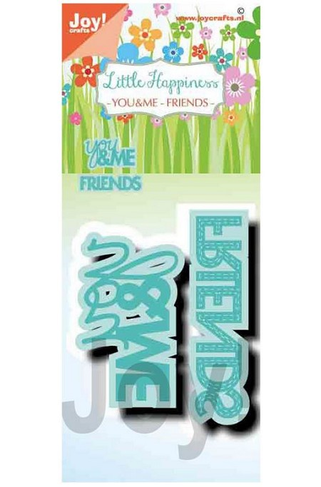 Joy Crafts - Cutting Die - Noor Little Happiness You & Me/Friends