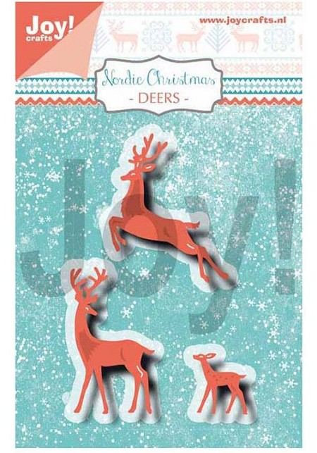 Joy Crafts - Cutting & Embossing Die - Nordic Christmas Deers