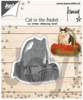 Joy Crafts - Cutting Die - Cat in the Basket