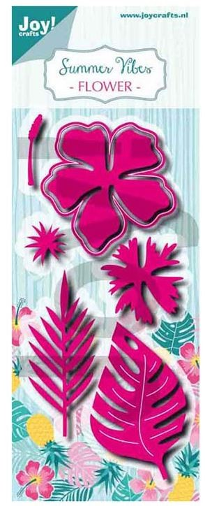 Joy Crafts - Cutting Die - Summer Vibes Tropical Flowers & Leaves