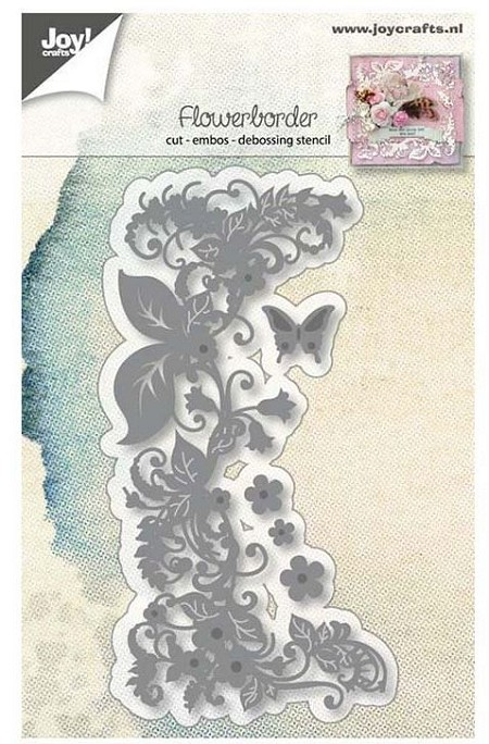 Joy Crafts - Cutting & Embossing Die - Flower Border