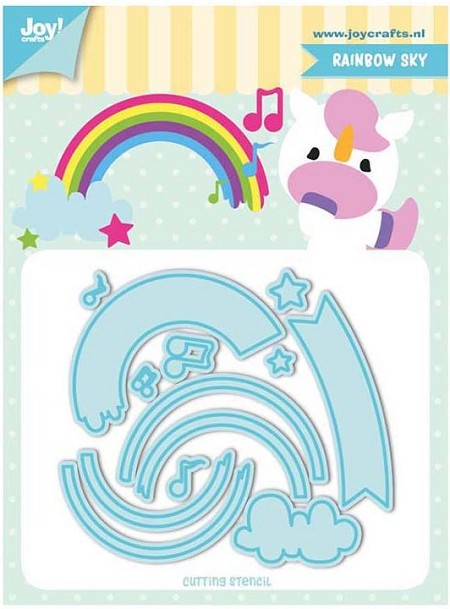 Joy Crafts - Cutting Die - Jocelijne Rainbow Sky