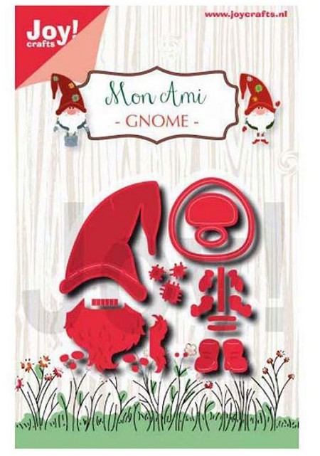 Joy Crafts - Cutting & Embossing Die - Mon Ami Gnome
