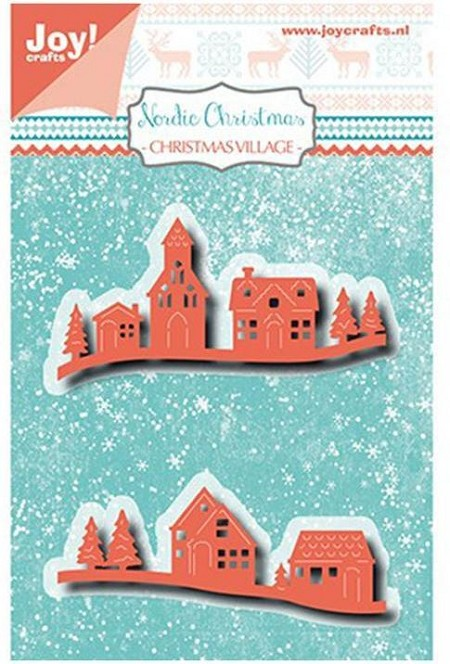 Joy Crafts - Cutting & Embossing Die - Nordic Christmas Village
