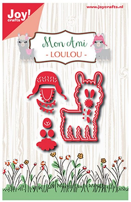 Joy Crafts - Cutting Die - Mon Ami Louou Lama