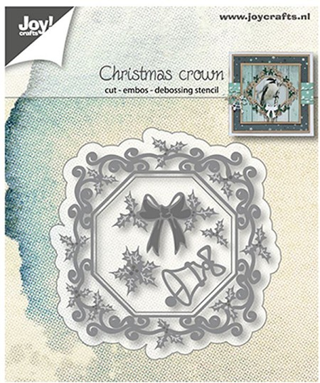 Joy Crafts - Cutting & Embossing Die - Christmas Crown