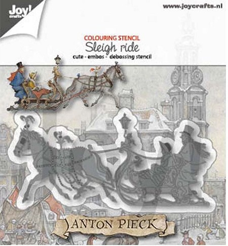 Joy Crafts - Cutting & Embossing Die - Anton Pieck Sleigh Ride