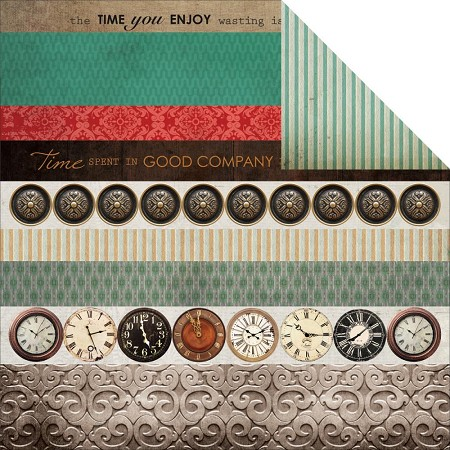 "KaiserCraft - Antique Bazaar Collection - 12""x12"" Double Sided Cardstock - Limited"