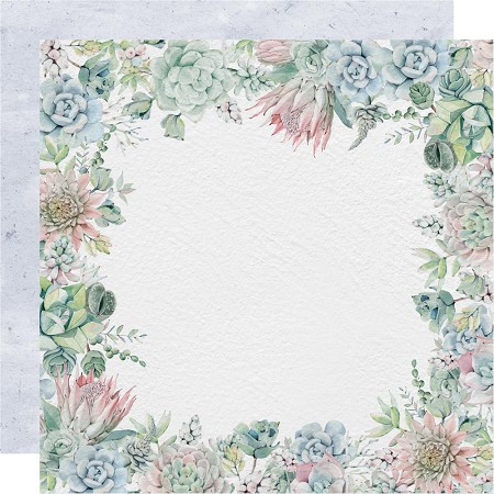 "KaiserCraft - Greenhouse Collection - Rosette (12""x12"" Double Sided Paper)"