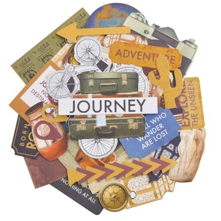 KaiserCraft - Journey Collection - Collectables Die Cuts