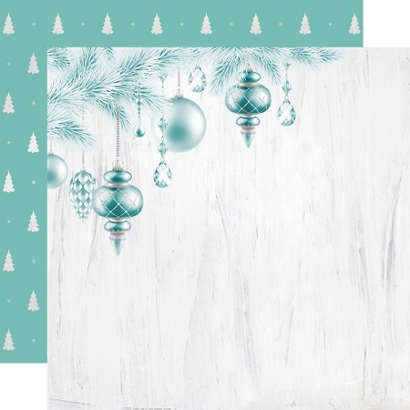 "KaiserCraft - Let It Snow Collection - O' Christmas Tree (12""x12"" Foiled Paper)"