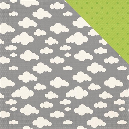"KaiserCraft - Little One Collection - 12""x12"" Double Sided Cardstock - Jack"