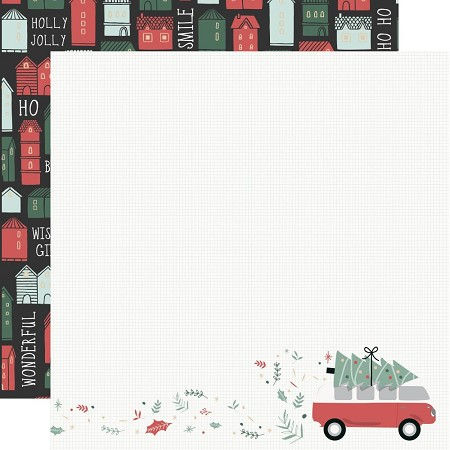 "KaiserCraft - Peppermint Kisses Collection - Combi Christmas (12""x12"" Double Sided Paper)"