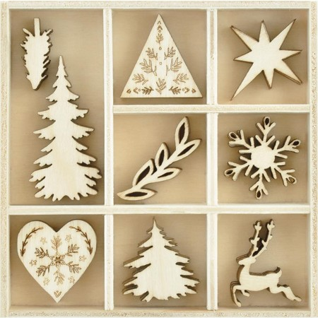 KaiserCraft - Wonderland Collection - Nordic Wooden Shapes
