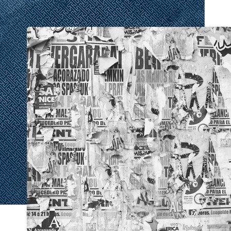 "KaiserCraft - Workshop Collection - Courageous (12""x12"" Double Sided Paper)"