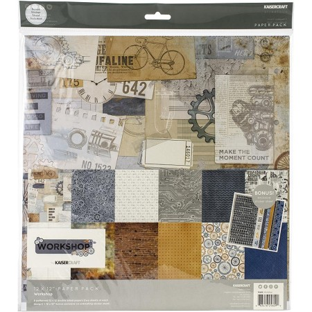 KaiserCraft - Workshop Collection - Paper Pack