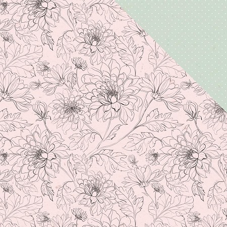 "KaiserCraft - Everlasting Collection - Bloom (12""x12"" Double Sided Paper)"