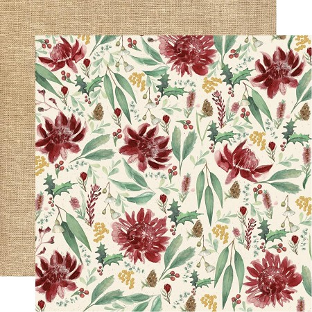 "KaiserCraft - Under The Gum Leaves Collection - Protea (12""x12"" Double Sided Paper)"
