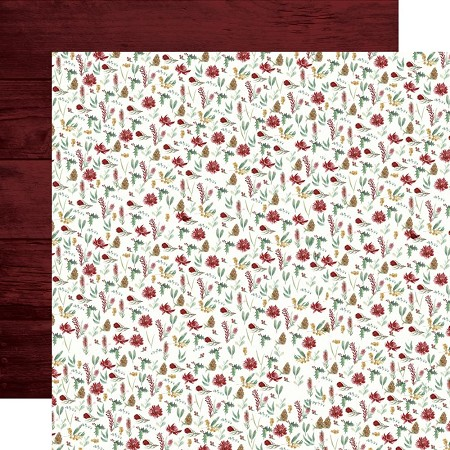 "KaiserCraft - Under The Gum Leaves Collection - Wild Flora (12""x12"" Double Sided Paper)"