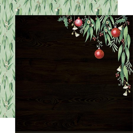 "KaiserCraft - Under The Gum Leaves Collection - Gum Leaves (12""x12"" Double Sided Paper)"
