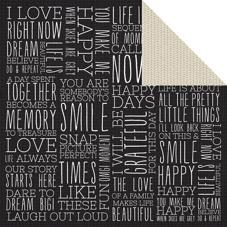 "Kaisercraft - Hello Today Collection - 12""x12"" Double Sided Cardstock - Current"