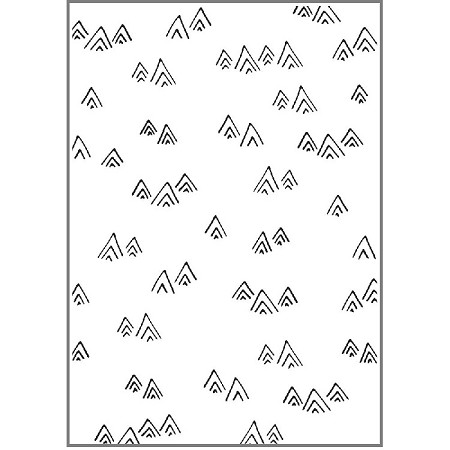 KaiserCraft - Embossing Folder - Mountains (4x6)