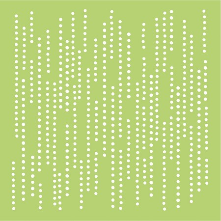 "KaiserCraft - 6""x6"" plastic stencil - Dotted Lines"