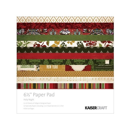 "KaiserCraft - Holy Night Collection - 6.5""x6.5"" Paper Pad"