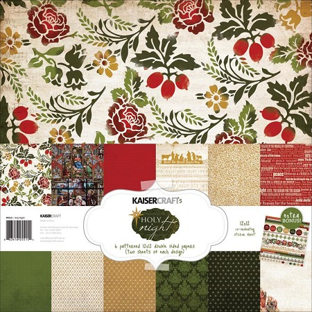 KaiserCraft - Holy Night Collection - Paper Pack :)