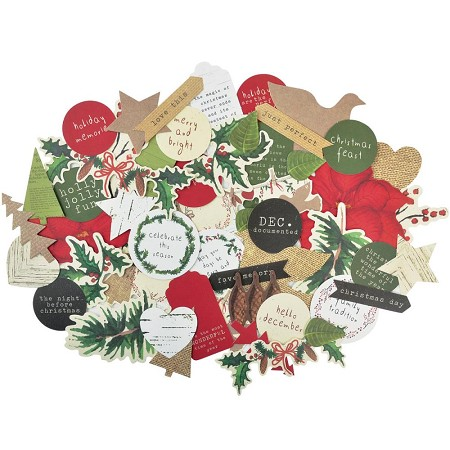 KaiserCraft - Home For Christmas Collection - Collectables Die Cuts