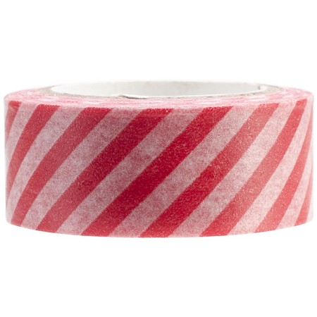 Kaiser - Printed Paper Tape - Candy Cane Stripe