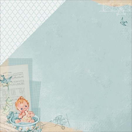 "KaiserCraft - Peek-A-Boo Collection - 12""x12"" Double Sided Cardstock - Kid"