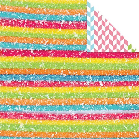 "KaiserCraft - Pop! Collection - 12""x12"" Double Sided Cardstock - Sugar"