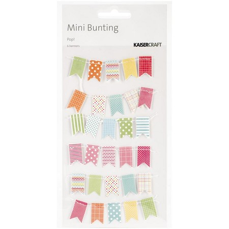 KaiserCraft - Pop! Collection - Bunting Banners