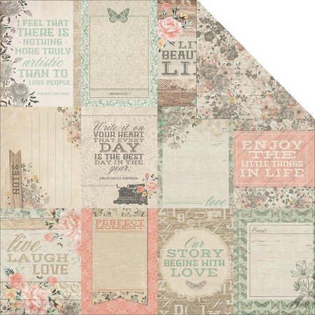 "Kaiser - Rustic Harmony Collection - 12""x12"" paper - Enchantment"