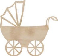 Kaiser wood flourish - Pram