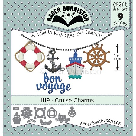 Karen Burniston - Cutting Die - Cruise Charms
