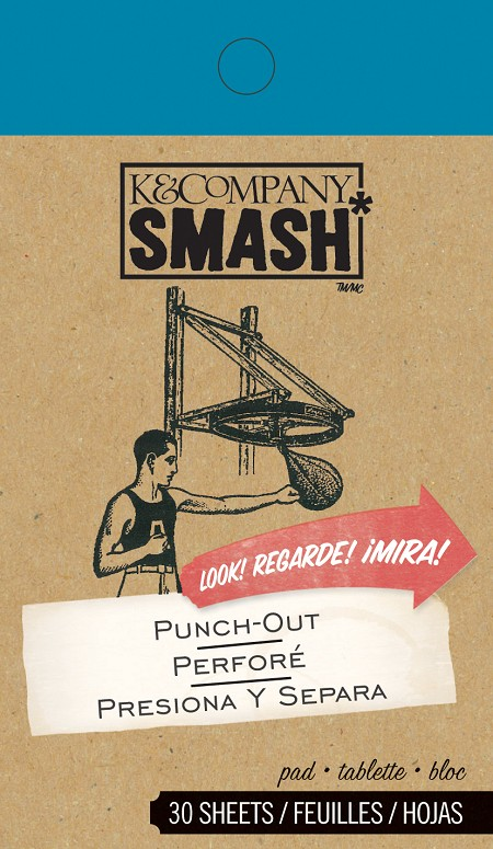 K&Company - SMASH - Punch Out Pad
