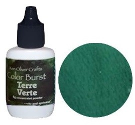 Ken Oliver Crafts - Color Burst Powder - Terre Verte