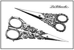 LaBlanche Silicone Stamp - 2 Scissors