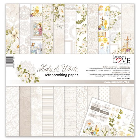 Laserowe Love - Holy & White Collection Kit
