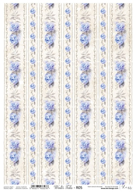 Lexi Design - Winter tales Rice Paper #5