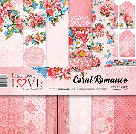 Laserowe Love - Coral Romance Collection Kit