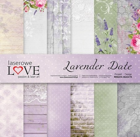 Laserowe Love - Lavender Date Collection Kit