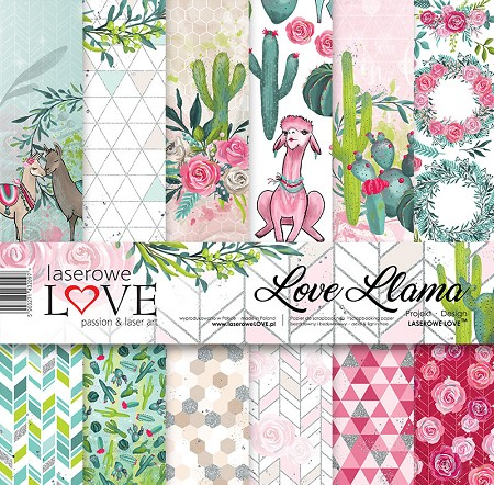 Laserowe Love - Love Llama Collection Kit