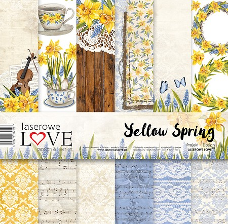 Laserowe Love - Yellow Spring Collection Kit